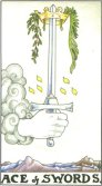 Tarot Meanings - Ace of Swords