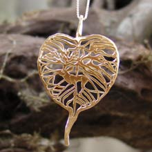 Amulets and Charms - The Awakening Pendant Gold - Click here for more info