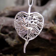 Amulets and Charms - The Awakening Pendant Silver - Click here for more info