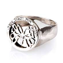 Amulets and Charms - Butterfly Effect ring silver - Click here for more info