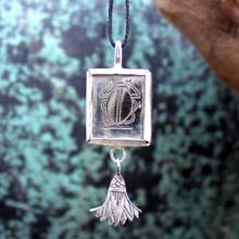 Amulets and Charms - Cancer Jewelry Pendant Silver - Click here for more info