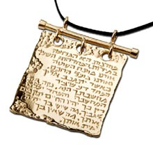 Amulets and Charms - Courage pendant gold - Click here for more info