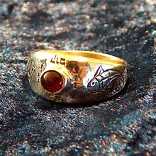 Amulets and Charms - Destiny ring gold - Click here for more info