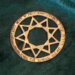 Amulets and Charms - Enneagram Pendant - Click here for more info