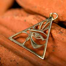 Amulets and Charms - Eye of Horus gold - Click here for more info