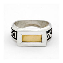 Amulets and Charms - Five Metal Ring - Click here for more info