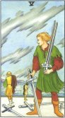 Tarot Meanings - Five of Swords