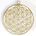 Amulets and Charms - Flower of Life Pendant - Click here for more info