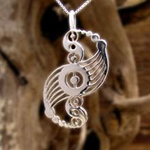 Amulets and Charms - Galactic Harmony Pendant Silver - Click here for more info