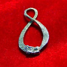 Amulets and Charms - Infinity Dragon pendant silver - Click here for more info
