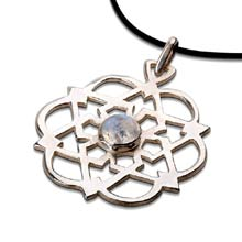 Amulets and Charms - egg of life star silver - Click here for more info