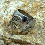 Amulets and Charms - Jerusalem Ring - Click here for more info