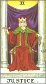 Tarot Meanings - Justice