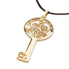 Amulets and Charms - Key of Success gold - Click here for more info
