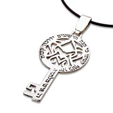 Amulets and Charms - Key of victory silver - Click here for more info
