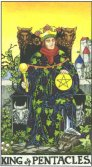 Tarot Meanings - King of Pentacles