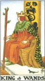 Tarot Meanings - King of Wands