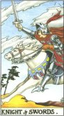 Tarot Meanings - Knight of Swords