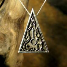 Amulets and Charms - Mars Talisman Silver - Click here for more info