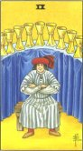 Tarot Meanings - Nine of Cups
