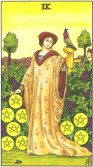 Tarot Meanings - Nine of Pentacles
