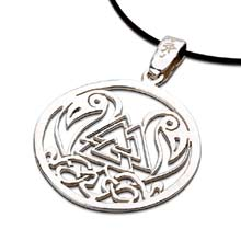 Amulets and Charms - Odin's Knot silver - Click here for more info