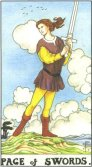 Tarot Meanings - Page of Swords