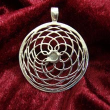 Amulets and Charms - Pattern of Mars silver - Click here for more info