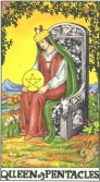 Tarot Meanings - Queen of Pentacles