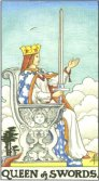 Tarot Meanings - Queen of Swords