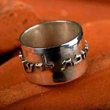 Amulets and Charms - Ring of Love silver - Click here for more info