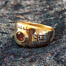 Amulets and Charms - Ring of tao small gold              - Click here for more info