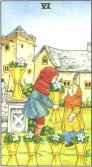 Tarot Meanings - Six of Cups