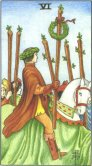 Tarot Meanings - Six of Wands