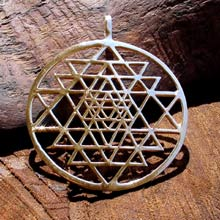 Amulets and Charms - Sri Yantra gold - Click here for more info