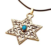 Amulets and Charms - Star of David for protection gold - Click here for more info