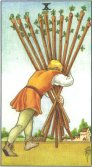 Tarot Meanings - Ten of Wands