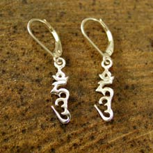 Amulets and Charms - Hung earrings silver - Click here for more info