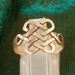 Amulets and Charms - Tibetan Knot Ring - Click here for more info