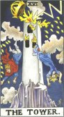 Tarot Meanings - The Tower