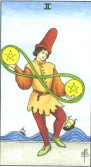 Tarot Meanings - Two of Pentacles