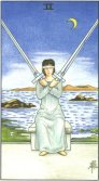 Tarot Meanings - Two of Swords