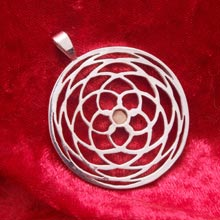 Amulets and Charms - Pattern of venus silver - Click here for more info