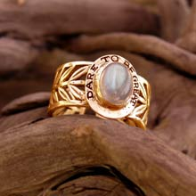 Amulets and Charms - Victory Ring Gold - Click here for more info