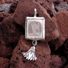 Amulets and Charms - Virgo Jewelry Pendant Silver - Click here for more info