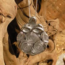 Amulets and Charms - Women Empowerment Famulet Silver - Click here for more info